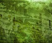 Grunge grün urban mauer hintergrund — Stockfoto