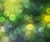 Bokeh verde hermoso fondo — Foto de Stock