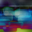 Abstract Computer Data Background — Stock Photo