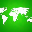 Green World Map Background — Stock Photo #19162389