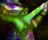 Green Abstract Guitar Background — Stock Photo