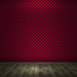 Empty Red Room Background — Stockfoto