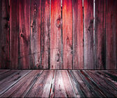 Red Wooden Floor Background — Stock Photo