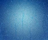 Texture de la glace bleue — Photo