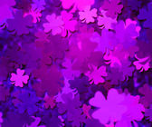 Violet Clover Texture Background — Stock Photo