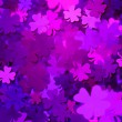 Stock Photo: Violet Clover Texture Background