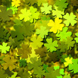 Stock Photo: Clover Texture Background