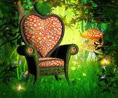 Magic Garden Background — Stock Photo