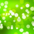 Green Simple Bokeh Abstract Background - Stock Photo