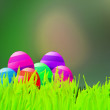 Stock Photo: Green Easter Background