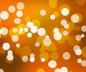 Orange Simple Bokeh Abstract Background — Stock Photo
