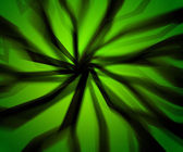 Scary Rays Green Background — Stock Photo