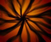 Scary Rays Orange Background — Stock Photo