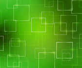 Groene abstracte vierkantjes achtergrond — Stockfoto