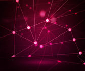 Pink Network Stage Background — Stock Photo