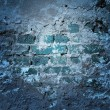 Blue Grunge Wall Texture — Stock Photo #23791467