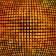 Golden Disco Background Texture — Stock Photo