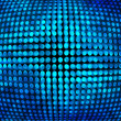 Royalty-Free Stock Photo: Blue Disco Background Texture