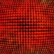 Royalty-Free Stock Photo: Red Disco Background Texture