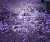 Violet Grunge Wall Texture — Stock Photo