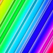 Rainbow Glowing Stripes Background — Stock Photo