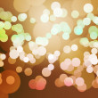 Orange Clear Bokeh Background — 图库照片