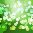 Green Clear Bokeh Background — 图库照片