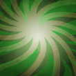 Green Rays Background — Stock Photo