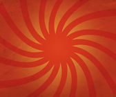 Twisted Rays Orange Backdrop — Stock Photo
