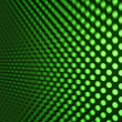 Green LED Light — Stock Photo