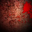 Blood on Grunge Texture — 图库照片