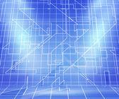 Blueprint Spotlight Abstract Background — Stock Photo
