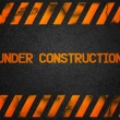 unter construction background — Stockfoto