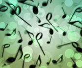 Music Bokeh Background — Stock Photo
