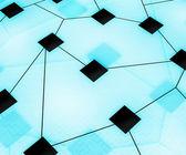 Web Network Image Background — Stock Photo