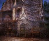 страшно таверна фон — Стоковое фото