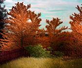 Telón de fondo de naturaleza fantasía — Foto de Stock