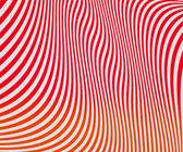 Rode golvende strepen textuur — Stockfoto