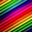 Rainbow Stripes Backdrop — Stock Photo