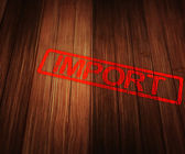Import word — Stock Photo