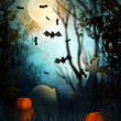 Stock Photo: Halloween Backdrop