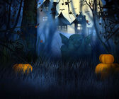 Halloween oscuro — Foto de Stock