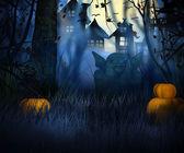 Dark Halloween — Stock Photo