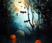 Telón de fondo de halloween — Foto de Stock