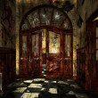 Scary Asylum Interior — Stock Photo #33957817