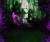 Halloween Backdrop — Stock Photo