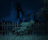 Night Halloween — Stock Photo