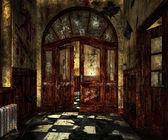 Scary Asylum Interior — Stock Photo