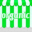 Organic Awning — Stock Photo
