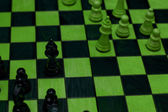 Green Chess Game — Stock Photo